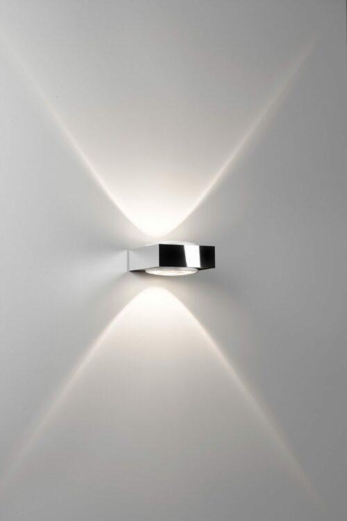 Deltalight Wandleuchte Vision LED Weiß-Chrom - Wandleuchten Innen