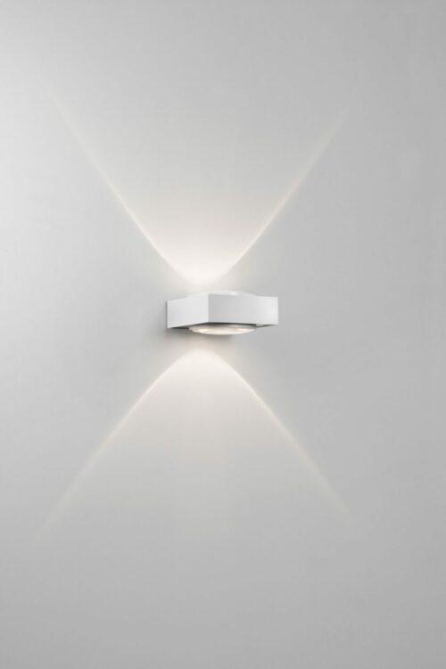 Deltalight Wandleuchte Vision Weiß-Chrom - Lampen & Leuchten