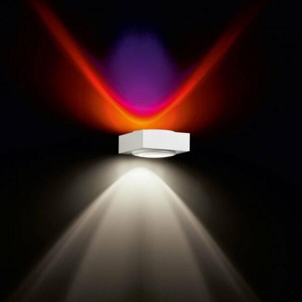Deltalight Wandleuchte Vision Weiß-Chrom - Wandleuchten Innen