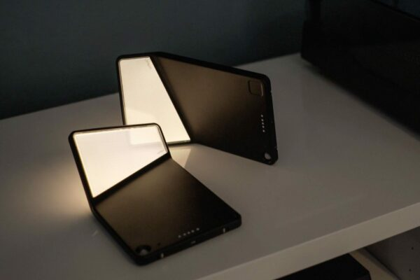 Nimbus Wandleuchte Winglet CL 3er-Set kabellos Schwarz matt - Lampen & Leuchten