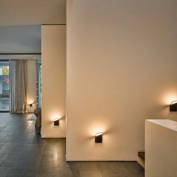 Nimbus Wandleuchte Winglet CL kabellos Schwarz matt - Lampen & Leuchten