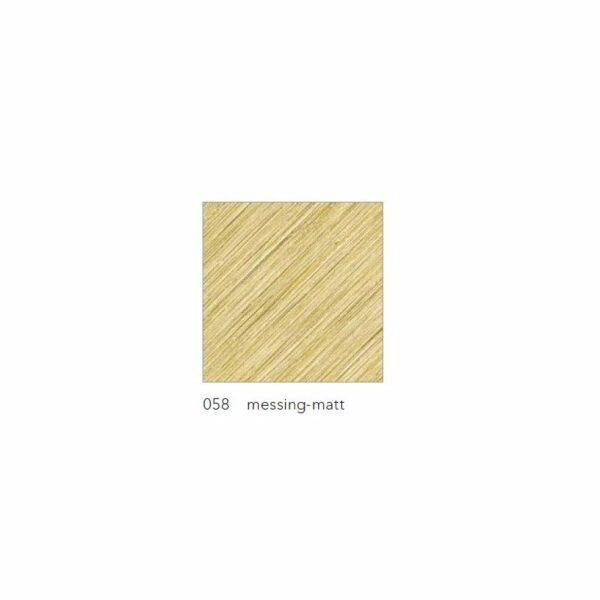 Grossmann Wand- und Deckenleuchte Fis klein Messing matt Farbmuster