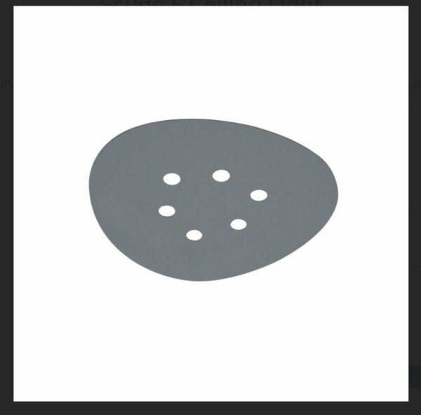 Icone Deckenleuchte Scudo 6 Grau