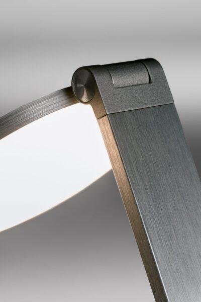 Lupia Licht Tischleuchte Consul Anthrazit Detail