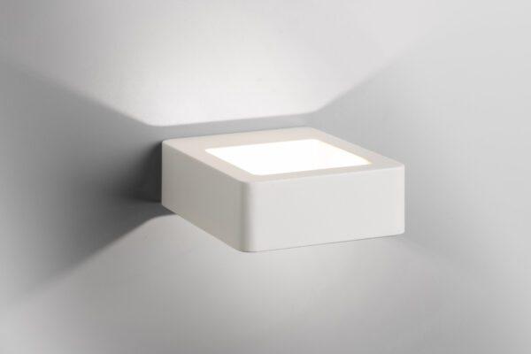 Lupia Licht Wandaußenleuchte Arena Weiß