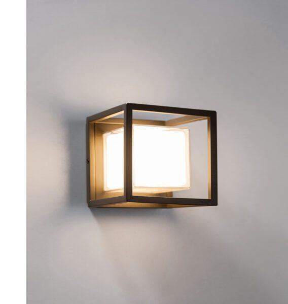 Lupia Licht Wandaußenleuchte Quadro W - Deckenleuchten Außenbereich