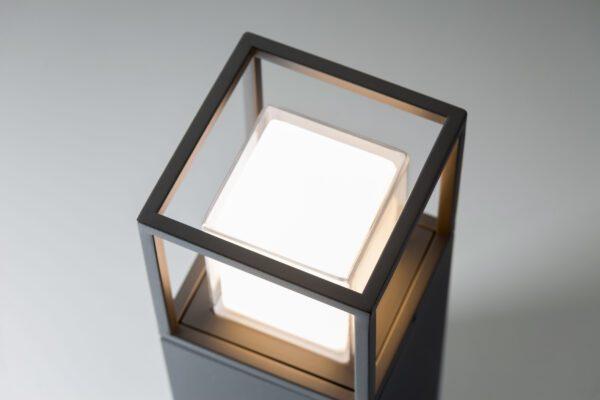 Lupia Licht Sockelaußenleuchte Quadro S Detail