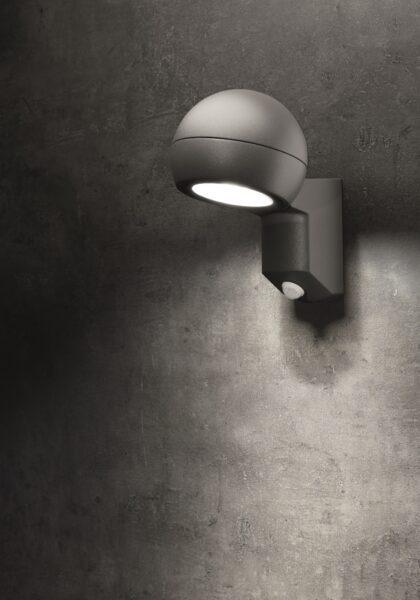 Lupia Licht Wandaußenleuchte Testa Sensor