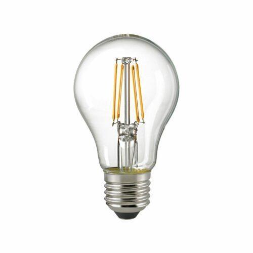 Sigor 7 W LED-Filament Normale Klar E27 2700 K Dim / ersetzt 60 W - Lampen & Leuchten