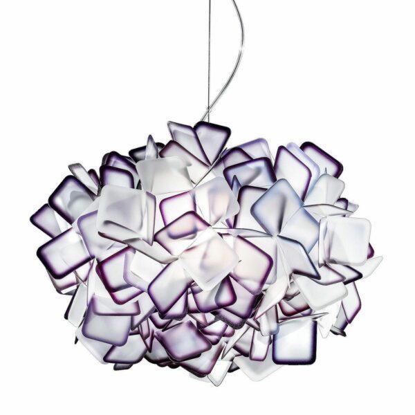Slamp Pendelleuchte Clizia Medium Violett