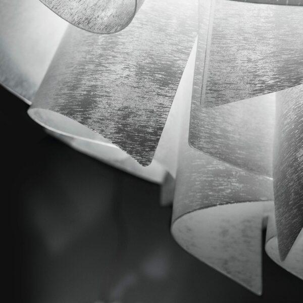 Slamp Pendelleuchte Veli Large Couture Detail Leuchtenschirm