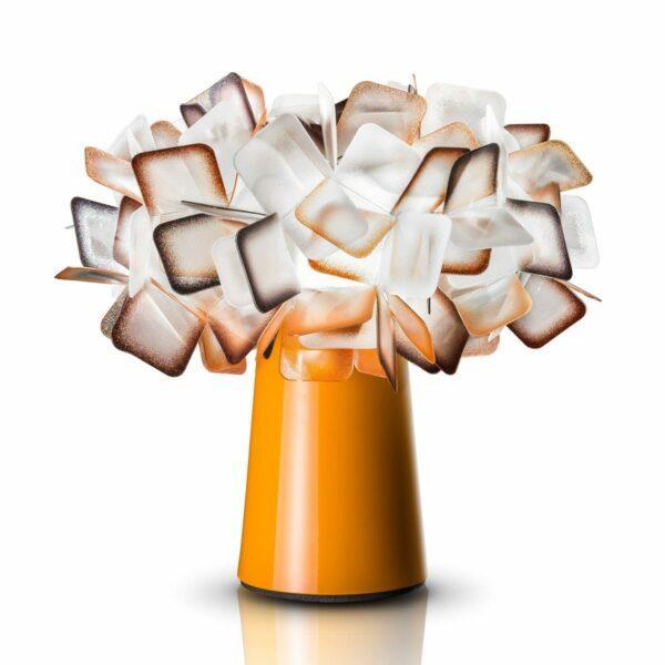 Slamp Tischleuchte Clizia Orange