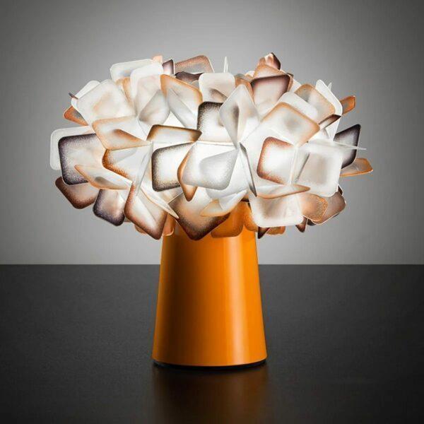 Slamp Tischleuchte Clizia Orange Milieu