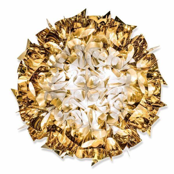 Slamp Wand- und Deckenleuchte Veli Large Gold