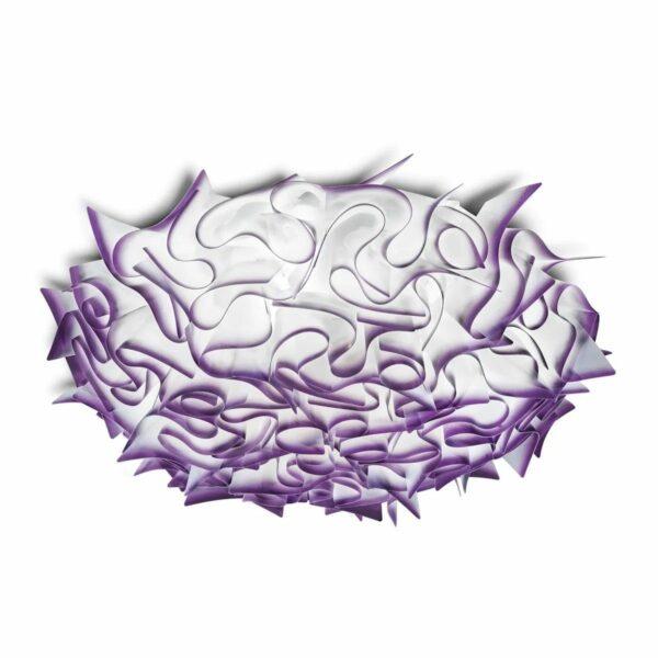 Slamp Wand- und Deckenleuchte Veli Large Violett