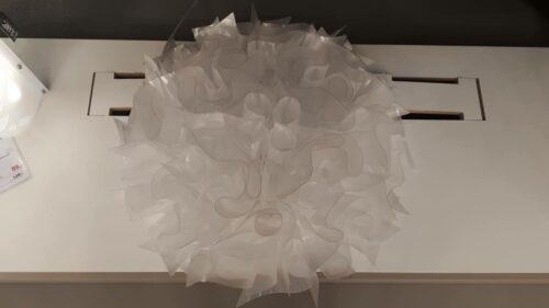 Slamp Wand- und Deckenleuchte Veli Large Prisma Ausstellungsstück