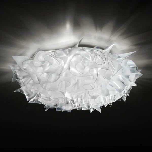 Slamp Wand- und Deckenleuchte Veli Large Prisma Milieu
