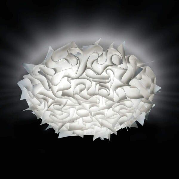 Slamp Wand- und Deckenleuchte Veli Large Weiß Milieu