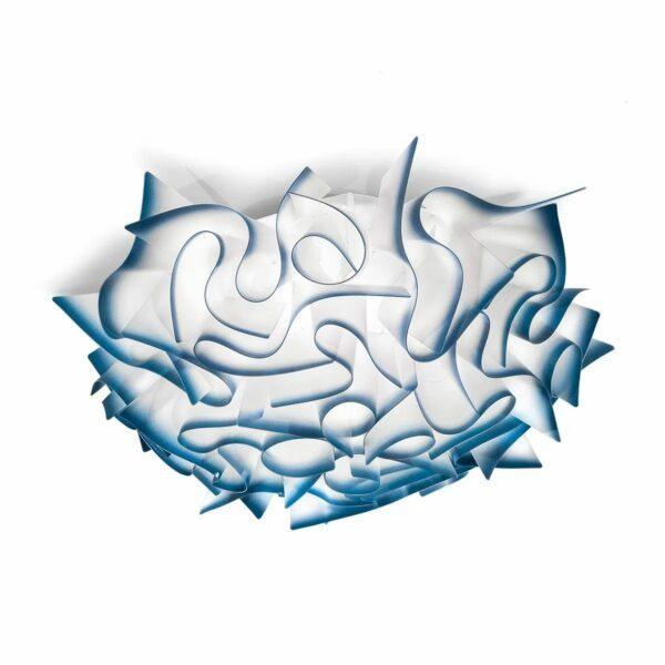Slamp Wand- und Deckenleuchte Veli Medium Blau