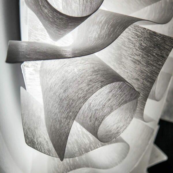 Slamp Wand- und Deckenleuchte Veli Medium Couture Detail Leuchtenschirm