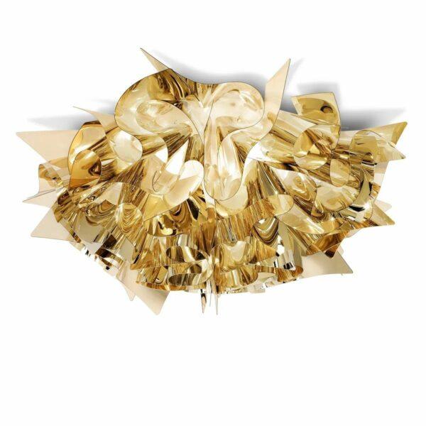 Slamp Wand- und Deckenleuchte Veli Medium Gold