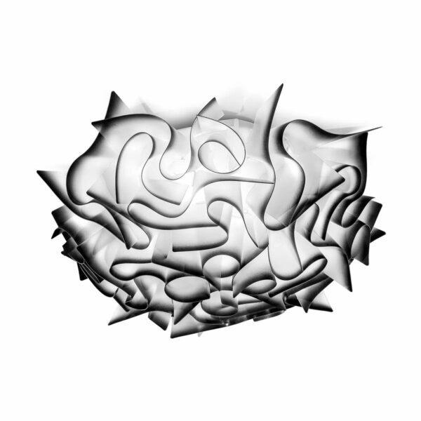 Slamp Wand- und Deckenleuchte Veli Medium Schwarz