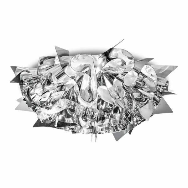 Slamp Wand- und Deckenleuchte Veli Medium Silber