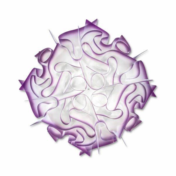 Slamp Wand- und Deckenleuchte Veli Medium Violett