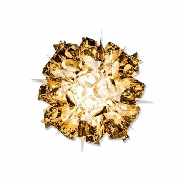 Slamp Wand- und Deckenleuchte Veli Mini Gold