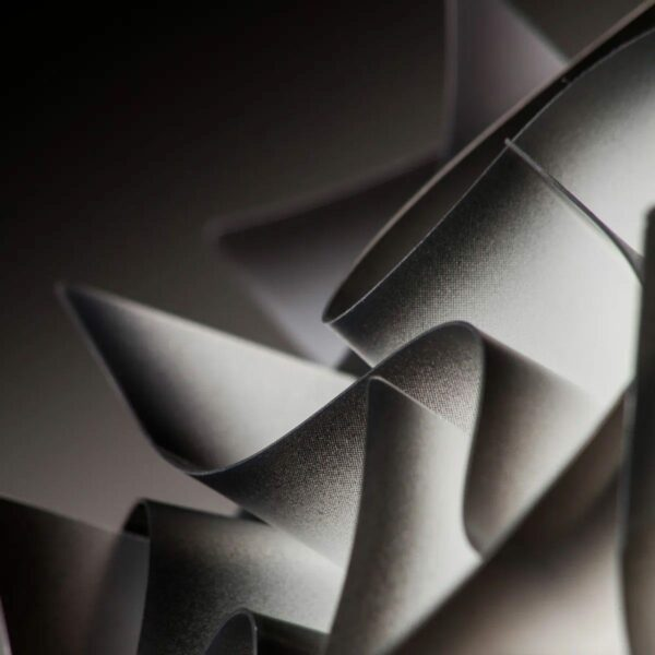 Slamp Wand- und Deckenleuchte Veli Mini Schwarz Detail Leuchtenschirm