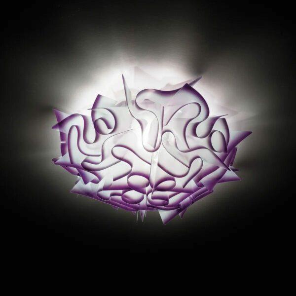 Slamp Wand- und Deckenleuchte Veli Mini Violett Milieu
