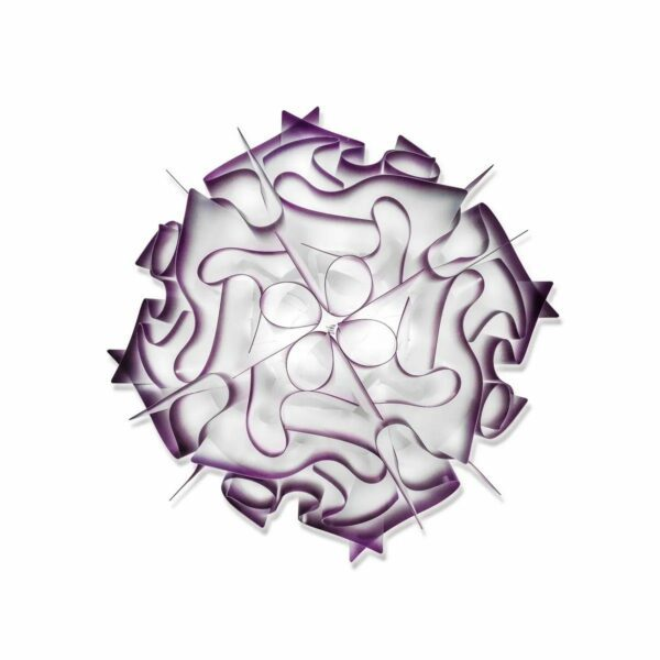 Slamp Wand- und Deckenleuchte Veli Mini Violett