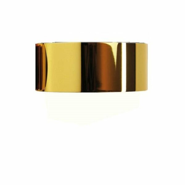 Top Light Wand- und Deckenleuchte Puk One vergoldet Body