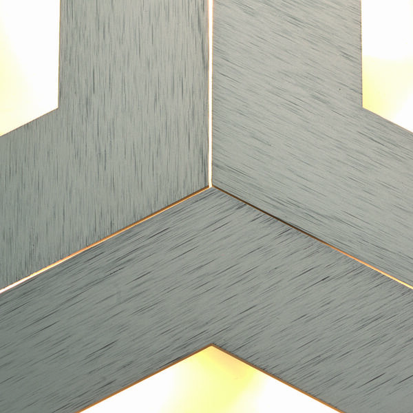 Bopp Deckenleuchte Box Comfort Oberfläche Taupe eloxiert