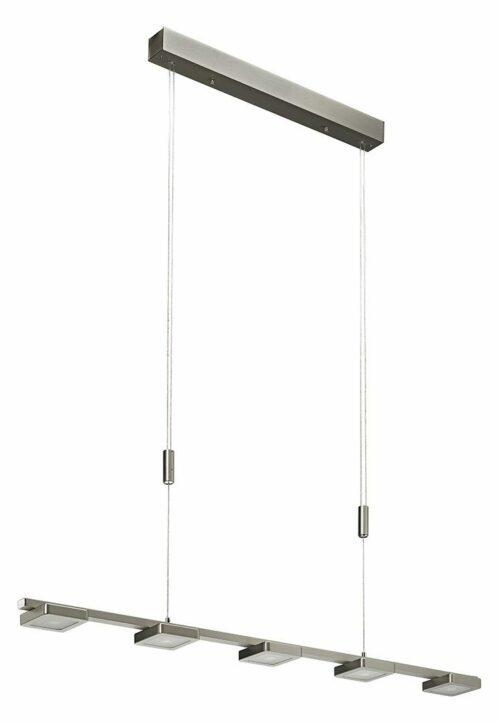 Sigor Pendelleuchte Don Pendant 5-flammig LED eckig - Lampen & Leuchten