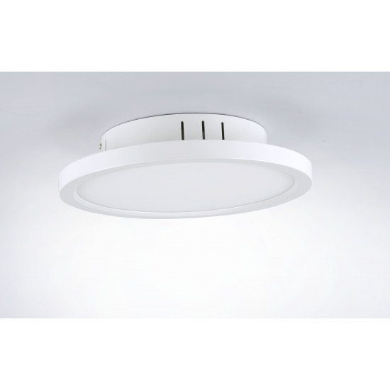 LeuchtenDirekt Deckenleuchte Flat Ø 30 cm - Lampen & Leuchten