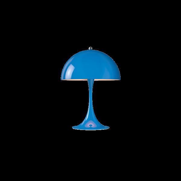 Louis Poulsen Tischleuchte Panthella Mini Blau