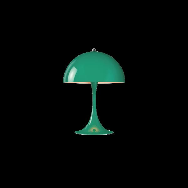 Louis Poulsen Tischleuchte Panthella Mini Blau-Grün