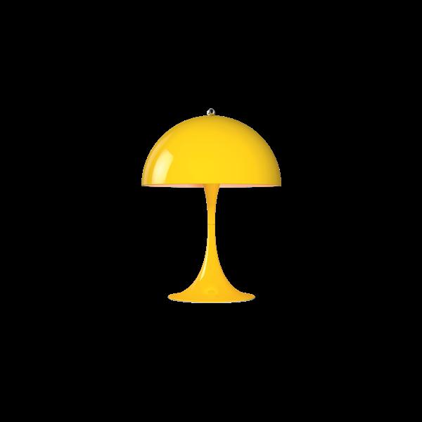 Louis Poulsen Tischleuchte Panthella Mini Gelb