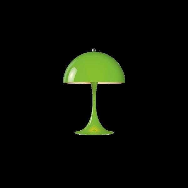 Louis Poulsen Tischleuchte Panthella Mini Gelb-Grün
