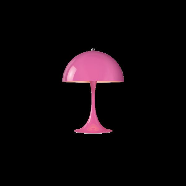 Louis Poulsen Tischleuchte Panthella Mini Rosa