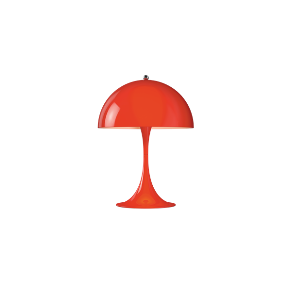 Louis Poulsen Tischleuchte Panthella Mini Rot