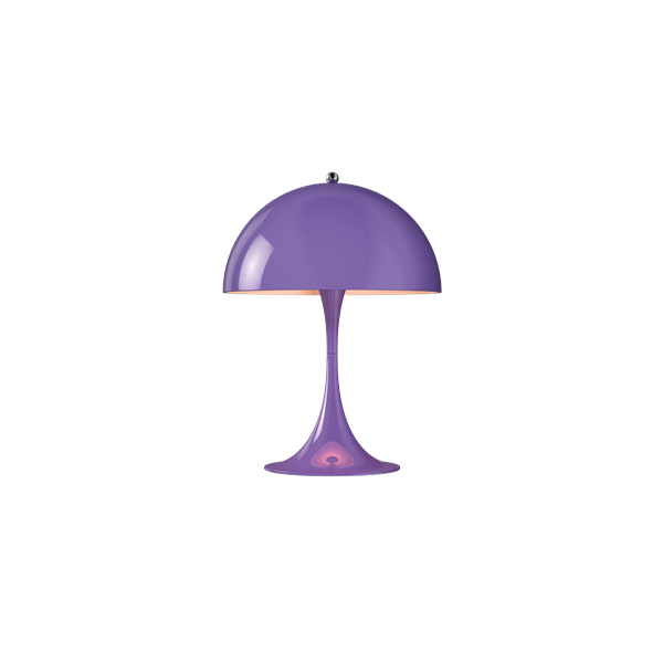 Louis Poulsen Tischleuchte Panthella Mini Violett