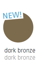 Nimbus Leseleuchte Roxxane Home mit Fußplatte Farbmuster Dark Bronze