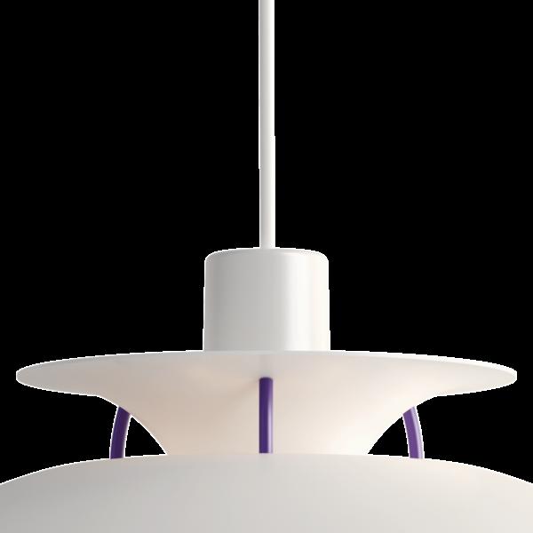 Louis Poulsen Pendelleuchte PH 5 Mini Classic White Detail