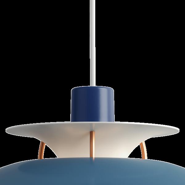 Louis Poulsen Pendelleuchte PH 5 Mini Hues of Blue Detail