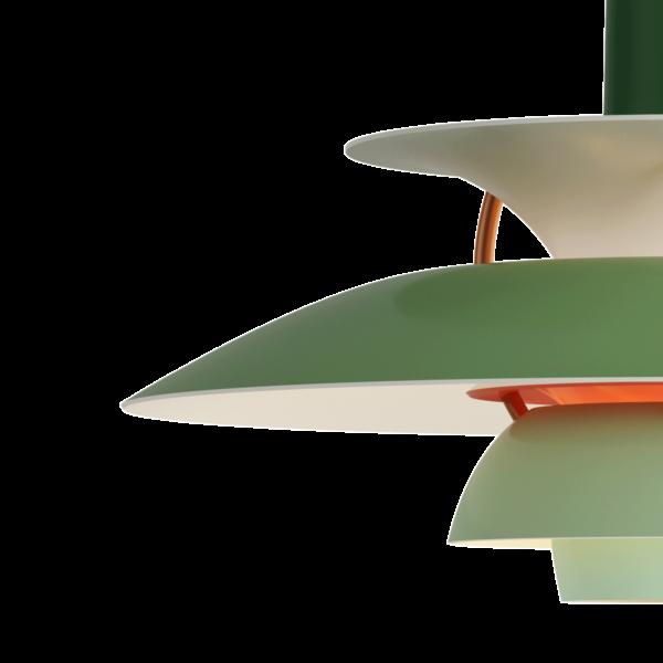 Louis Poulsen Pendelleuchte PH 5 Mini Hues of Green Detail