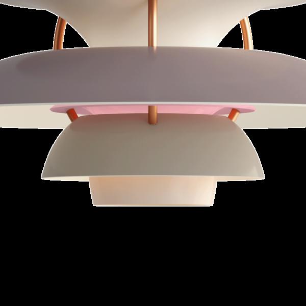 Louis Poulsen Pendelleuchte PH 5 Mini Hues of Grey Detail