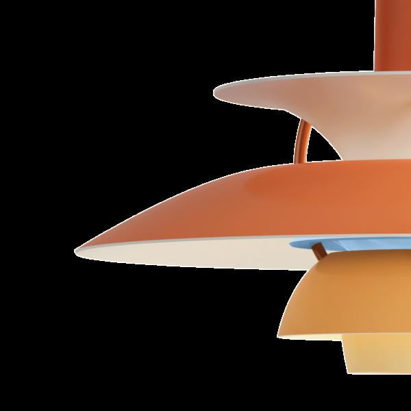 Louis Poulsen Pendelleuchte PH 5 Mini Hues of Orange Detail