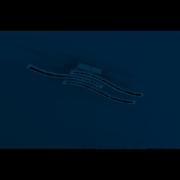 Reality Deckenleuchte Route LED Nickel matt R62473107